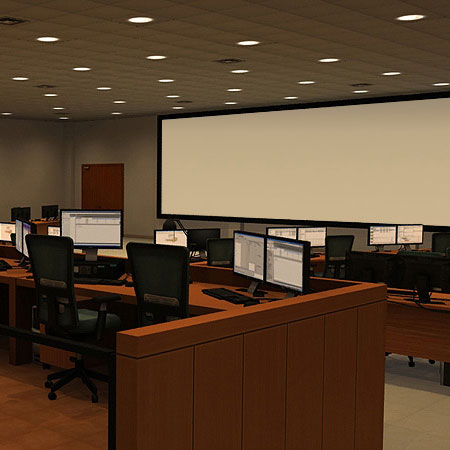 A link to the Security Control Room section of the portfolio
